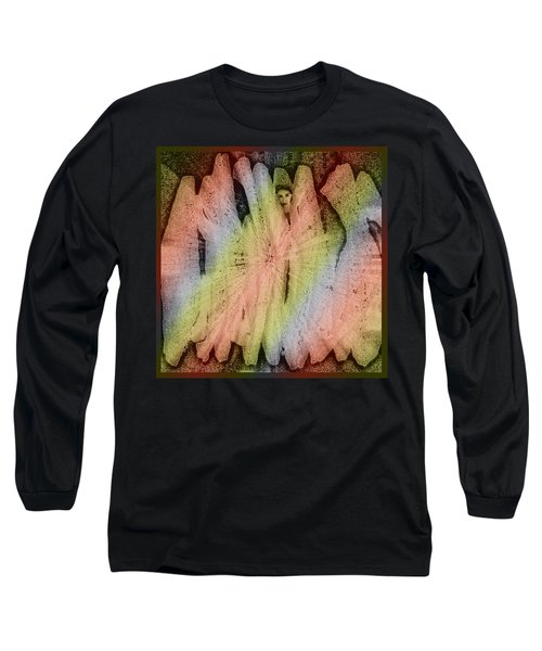 Long Sleeve T-Shirt featuring the digital art Which Way Out by Paula Ayers