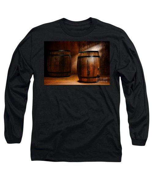 Whisky Barrel Long Sleeve T-Shirt