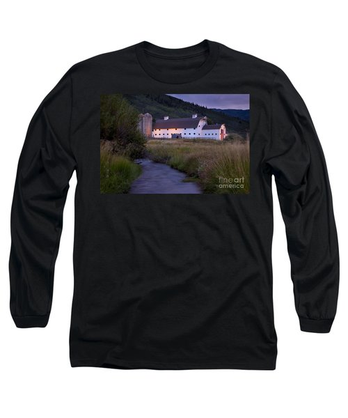 White Barn Long Sleeve T-Shirt