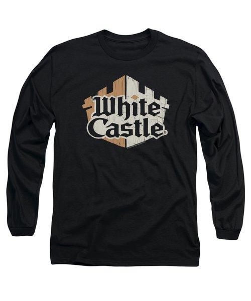 White Castle - Torn Logo Long Sleeve T-Shirt