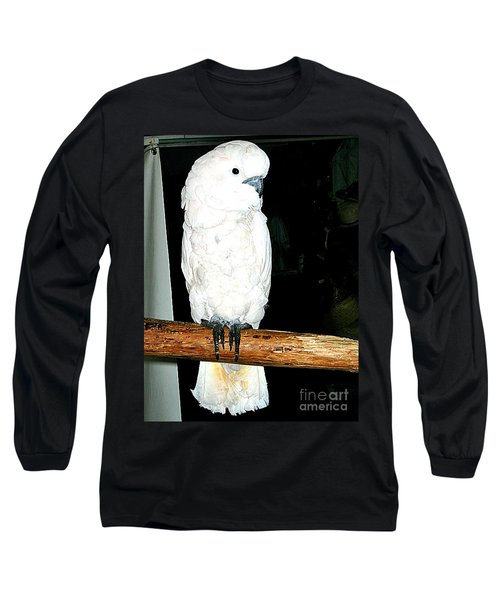 White Cockatiel-loreto Mx. Long Sleeve T-Shirt