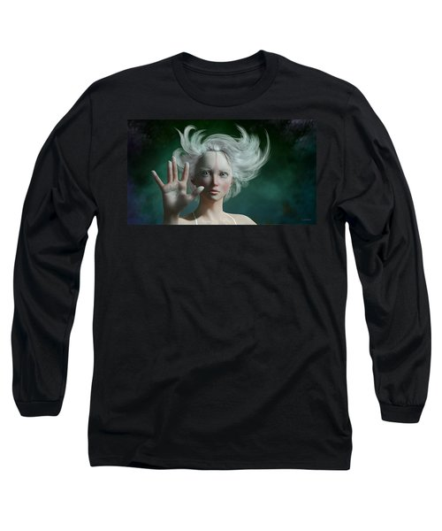 White Faun Long Sleeve T-Shirt
