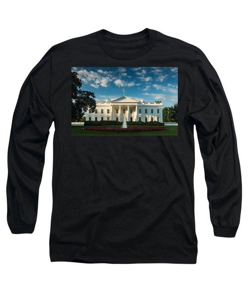 White House Sunrise Long Sleeve T-Shirt
