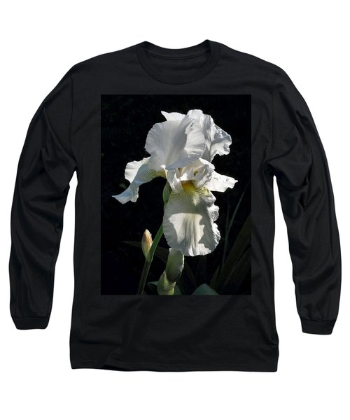 White Iris In The Morning Long Sleeve T-Shirt
