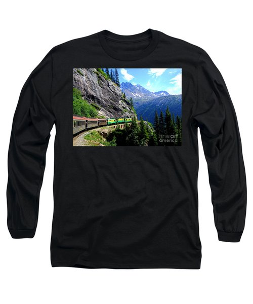 White Pass And Yukon Route Railway In Canada Long Sleeve T-Shirt