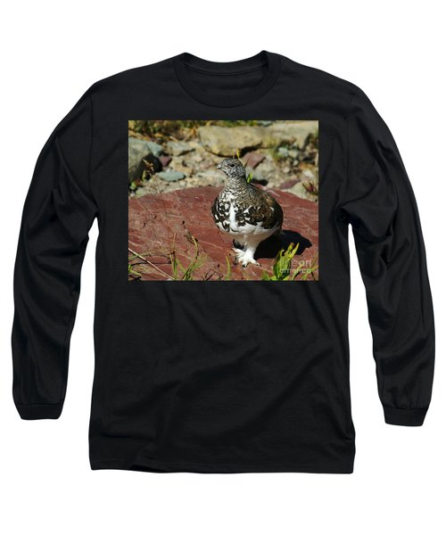 White-tailed Ptarmigan Long Sleeve T-Shirt