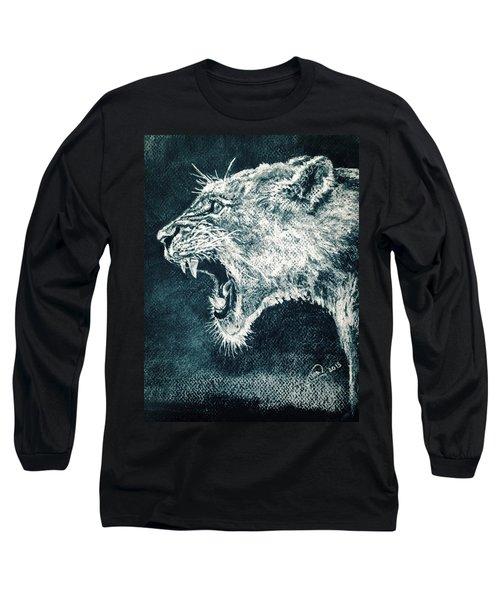 Leon Portrait Long Sleeve T-Shirt