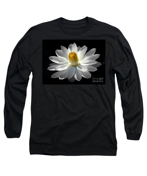 White Water Lily #2 Long Sleeve T-Shirt