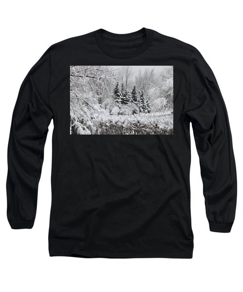 White Winter Day Long Sleeve T-Shirt