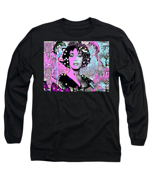 Whitney Houston Sing For Me Again 2 Long Sleeve T-Shirt