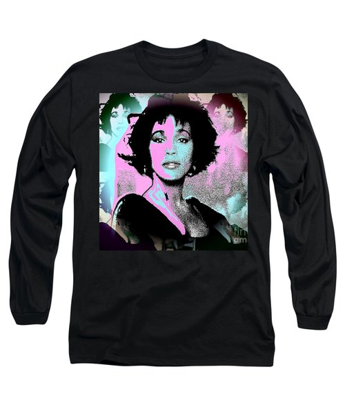 Whitney Houston Sing For Me Again Long Sleeve T-Shirt