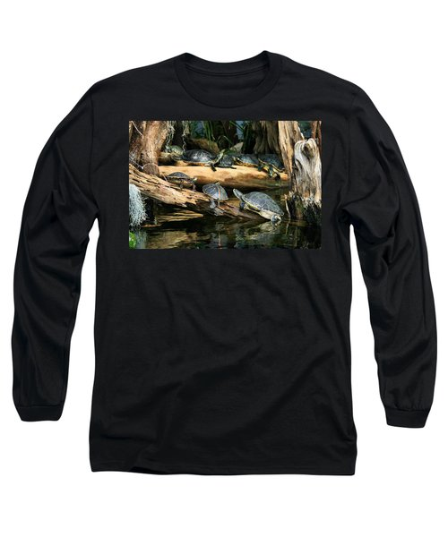 Who Called This Meeting Anyway Long Sleeve T-Shirt by Kristin Elmquist