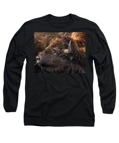 Wild Eye - Bison - Yellowstone Long Sleeve T-Shirt