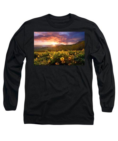 Wild Flower Delight Long Sleeve T-Shirt