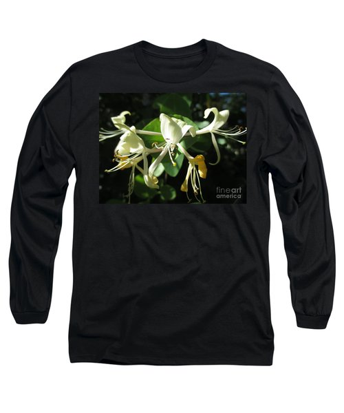 Wild Honeysuckle Long Sleeve T-Shirt by Martin Howard