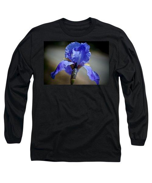 Wild Iris Long Sleeve T-Shirt by Ron White