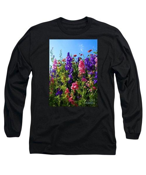 Wildflowers #14 Long Sleeve T-Shirt