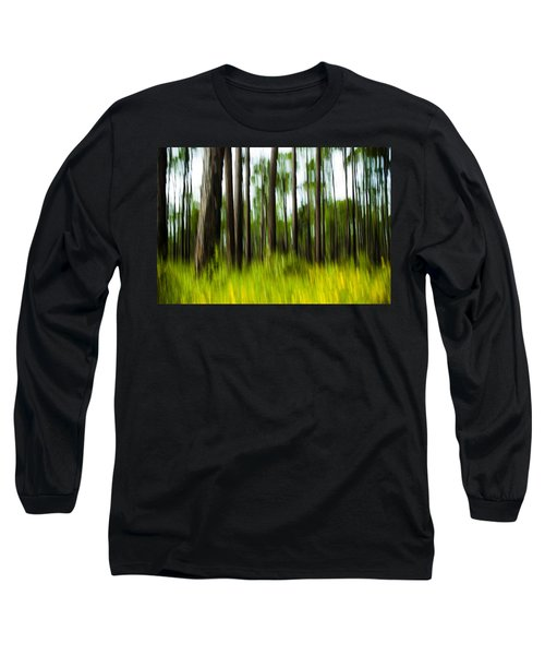 Wildflowers In The Forest Long Sleeve T-Shirt