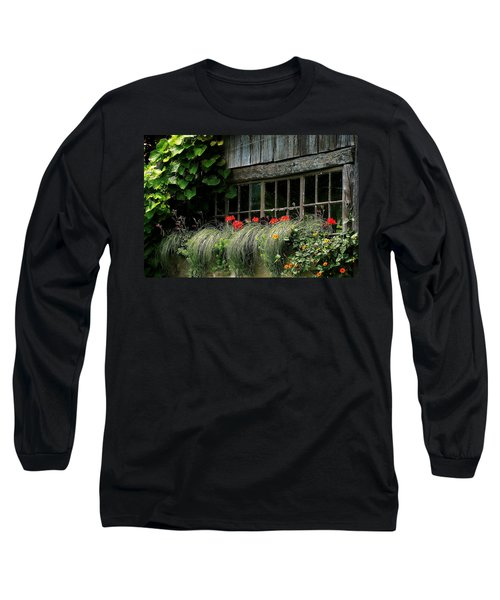 Window Boxes Long Sleeve T-Shirt