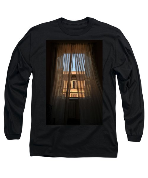 Window On Rome Long Sleeve T-Shirt