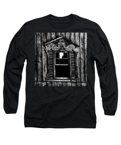 Window Pane Long Sleeve T-Shirt by Robert Geary