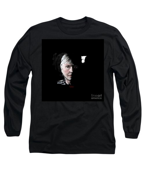 Window To The Soul Long Sleeve T-Shirt by Carol Jacobs