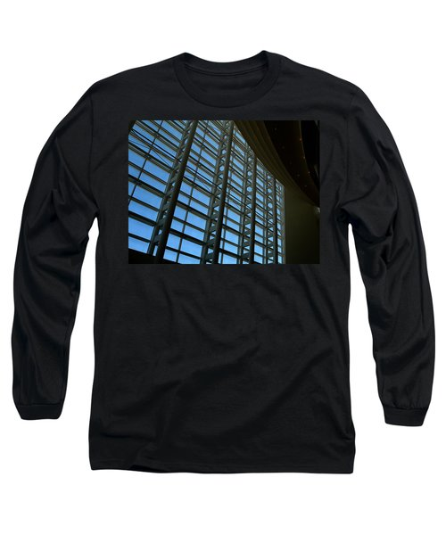 Window Wall At The Adrienne Arsht Center Long Sleeve T-Shirt