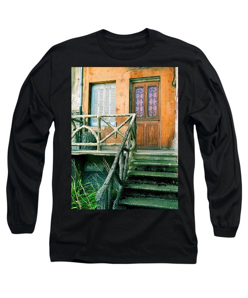 Long Sleeve T-Shirt featuring the photograph Windows And Doors 25 by Maria Huntley
