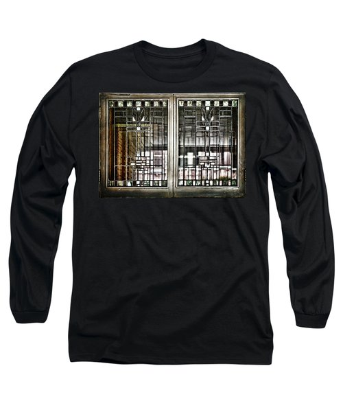 Windows Of A Prairie House  Long Sleeve T-Shirt