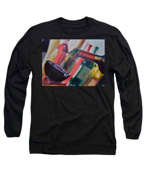 Wine Pour IIi Long Sleeve T-Shirt