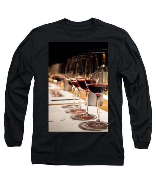 Wine Tasting Long Sleeve T-Shirt