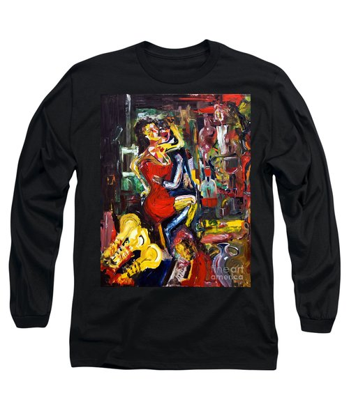 Wine Woman And Music Long Sleeve T-Shirt