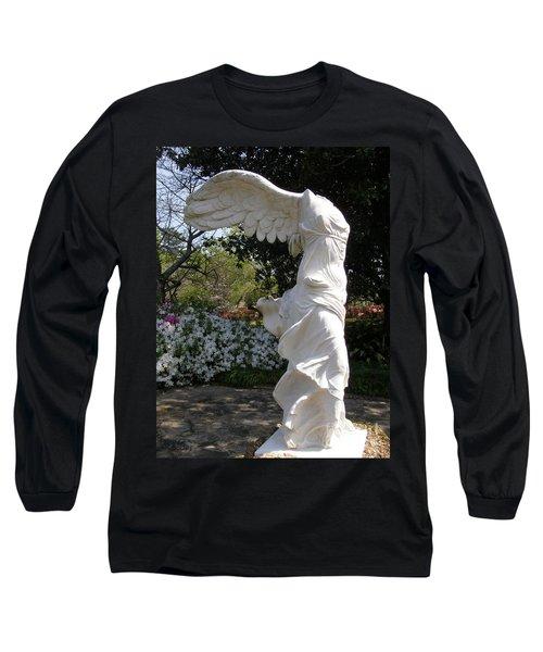 Winged Victory Nike Long Sleeve T-Shirt