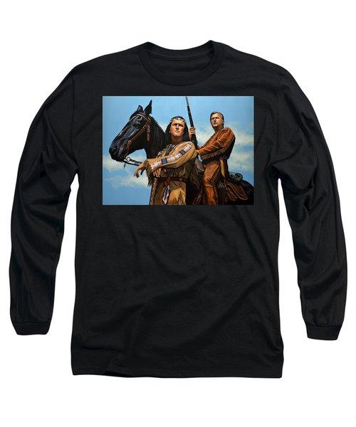 Winnetou And Old Shatterhand Long Sleeve T-Shirt
