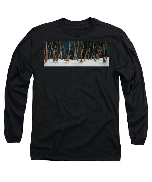 Winter Deer Long Sleeve T-Shirt
