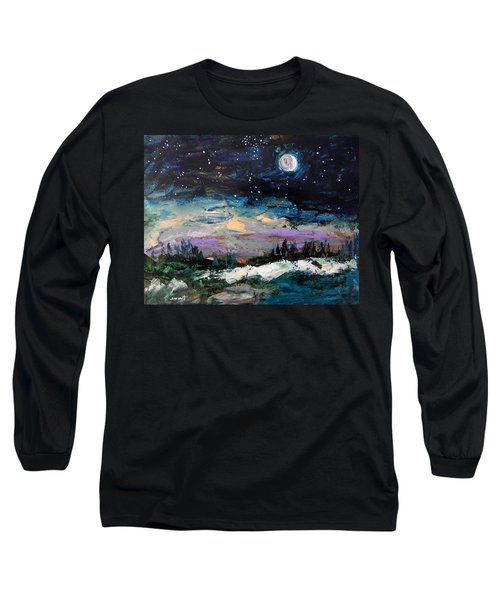 Winter Eclipse Long Sleeve T-Shirt