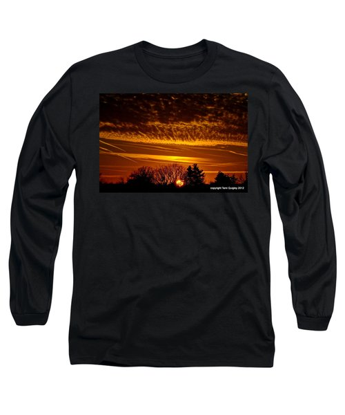 Winter Gold Long Sleeve T-Shirt