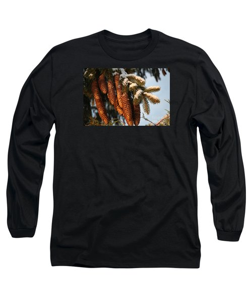 Winter Pine - Holiday  Long Sleeve T-Shirt