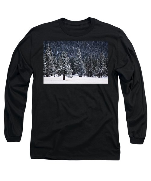 Winter Wonderland Long Sleeve T-Shirt by Melanie Lankford Photography