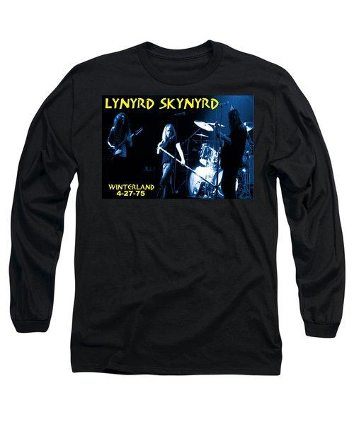 Winterland 4-27-75 Long Sleeve T-Shirt
