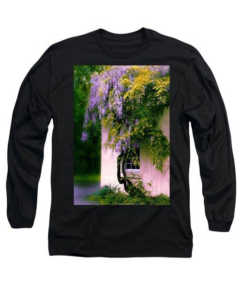Wisteria Tree Long Sleeve T-Shirt