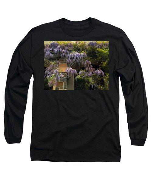 Wisteria Vine Long Sleeve T-Shirt