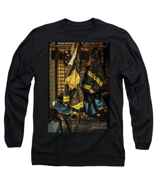 Long Sleeve T-Shirt featuring the photograph Within A Brotherhood You Never Walk Alone by Debra Fedchin