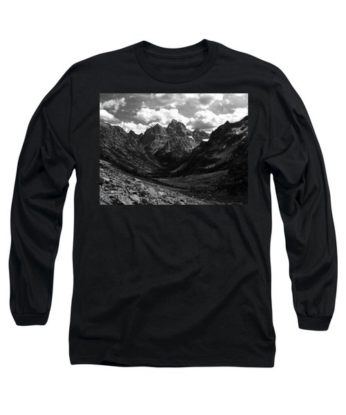 Long Sleeve T-Shirt featuring the photograph Within The North Fork Of Cascade Canyon by Raymond Salani III