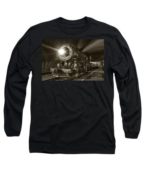 Wmsr Engine 734 At The Frostburg Depot Long Sleeve T-Shirt