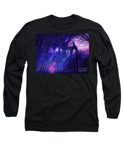 Wolf And Magic Long Sleeve T-Shirt