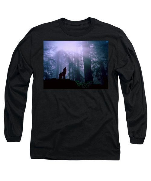 Wolf In The Woods Long Sleeve T-Shirt