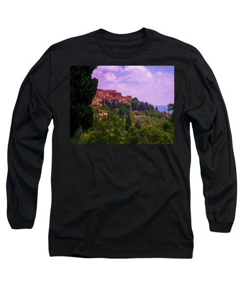 Wonderful Tuscany Long Sleeve T-Shirt