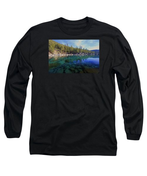 Long Sleeve T-Shirt featuring the photograph Wondrous Waters by Sean Sarsfield