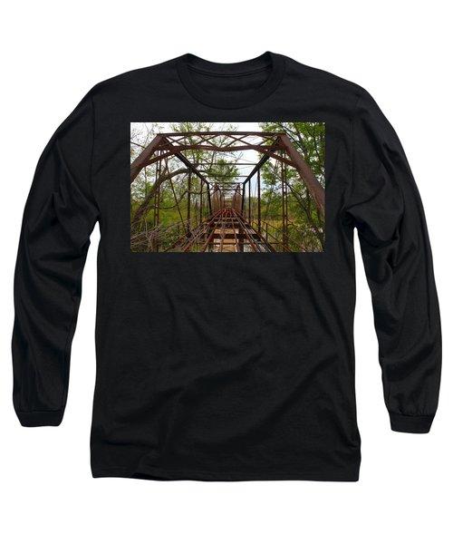 Woodburn Bridge Indianola Ms Long Sleeve T-Shirt